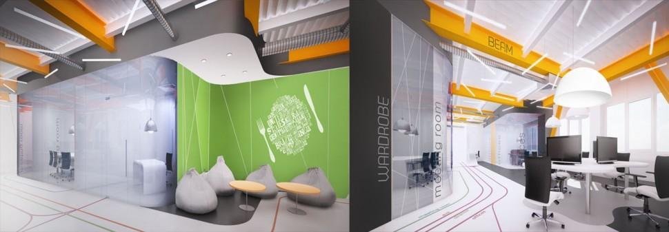 Уникальные решения в дизайне интерьера офиса