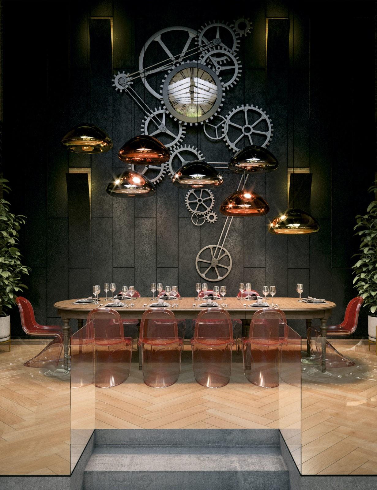 Дизайн интерьера ресторана бара